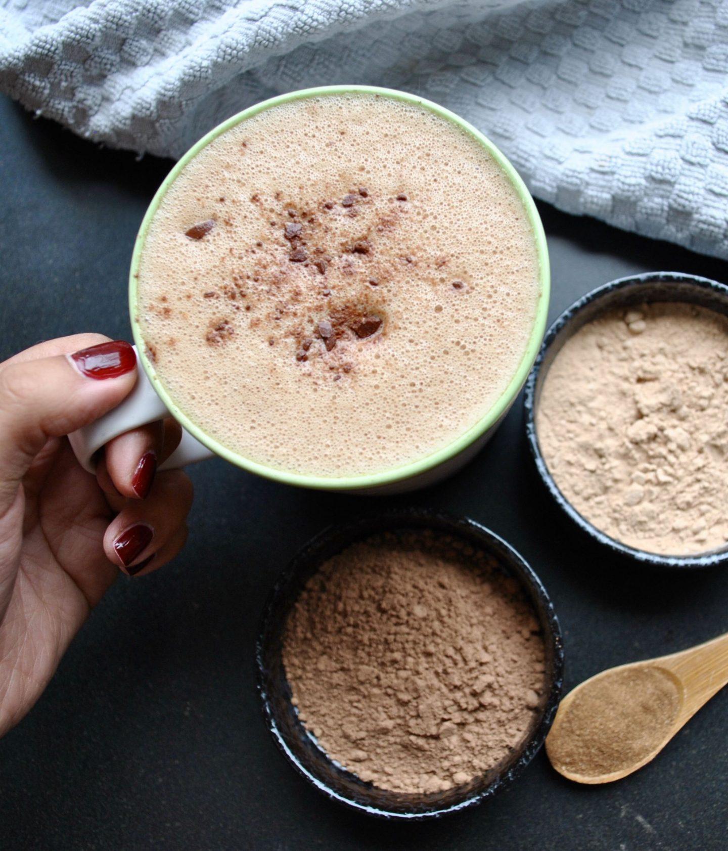 Hot Chocolate with Magic Mushrooms