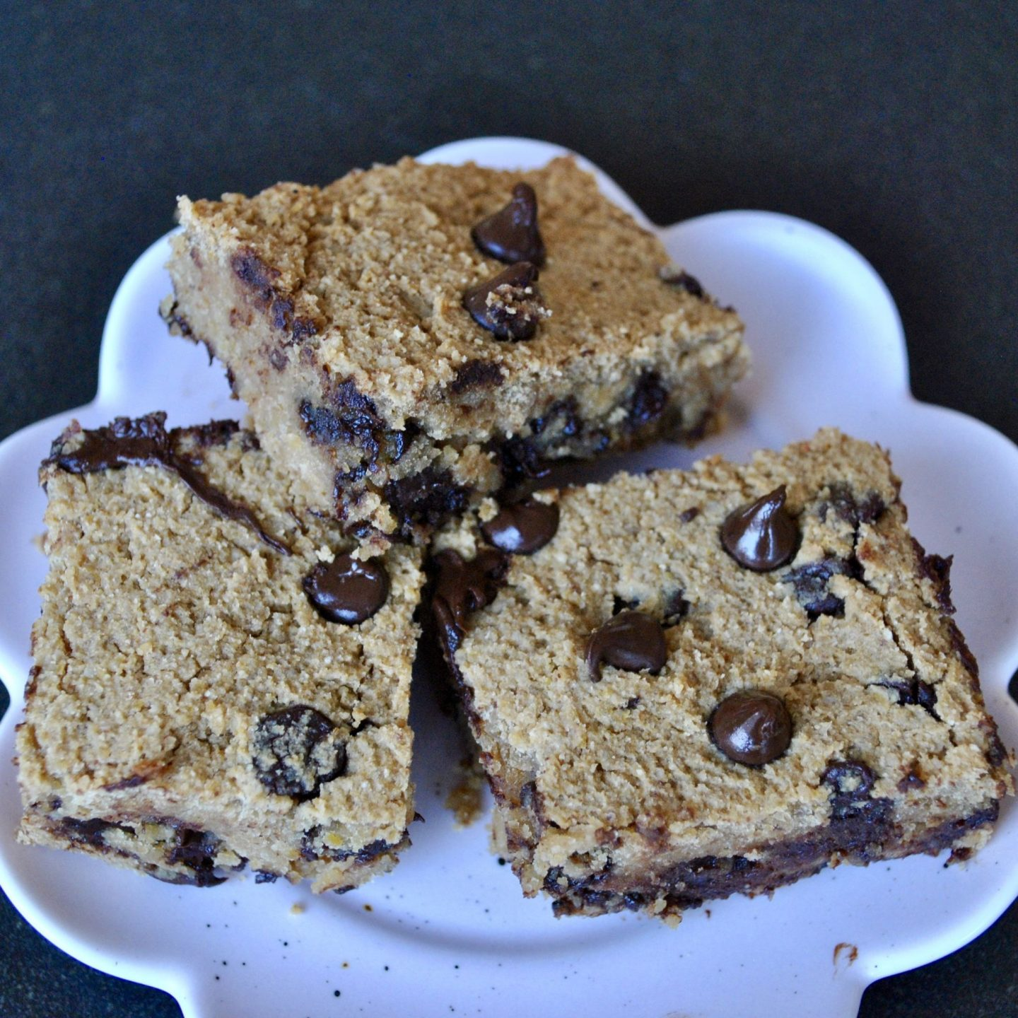 Chickpea Blondies Gluten-Free Dairy-Free