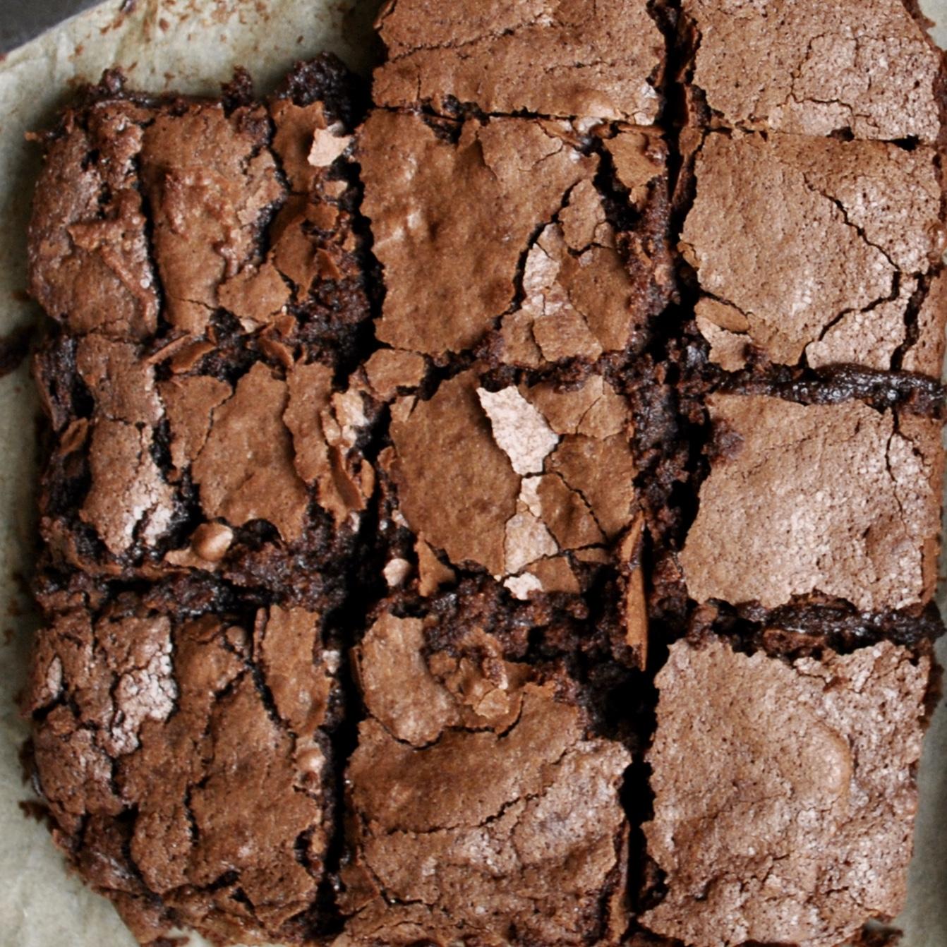 Gooey Chocolate Brownies