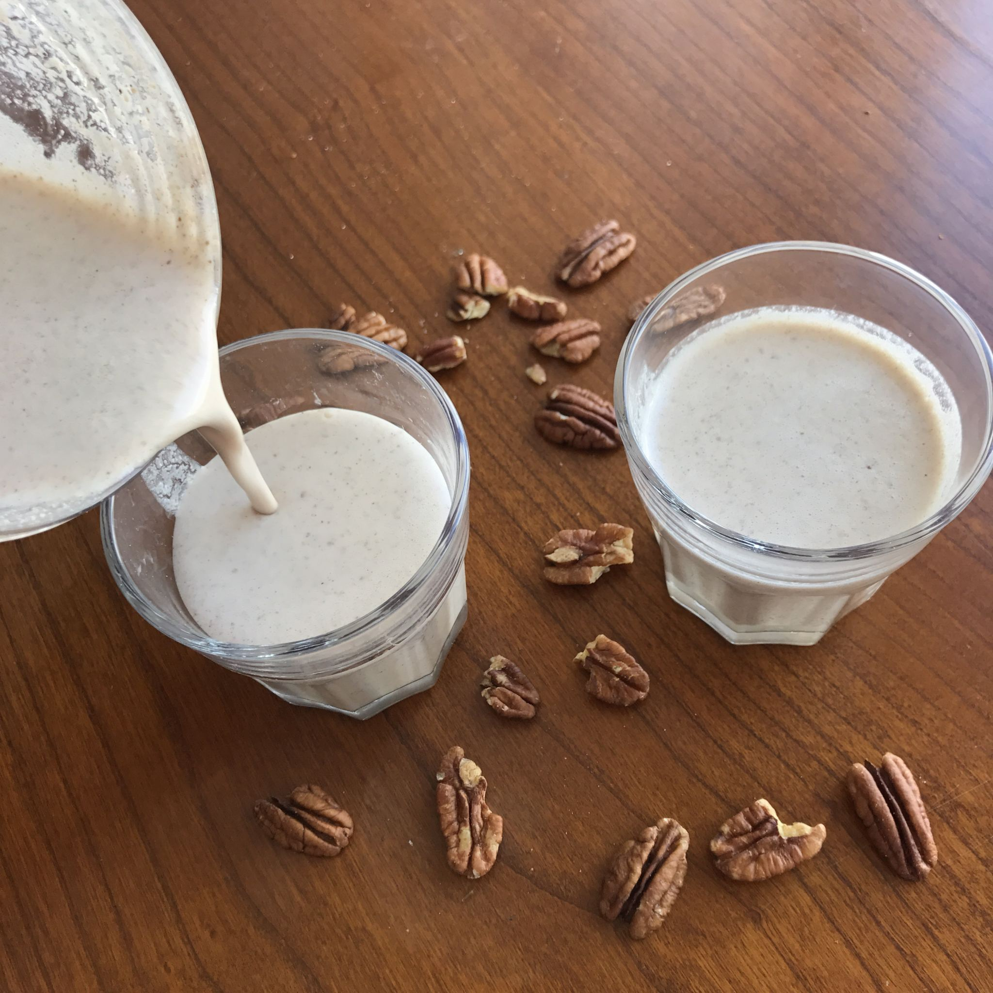 Pecan Milk that takes just 2 minutes to make