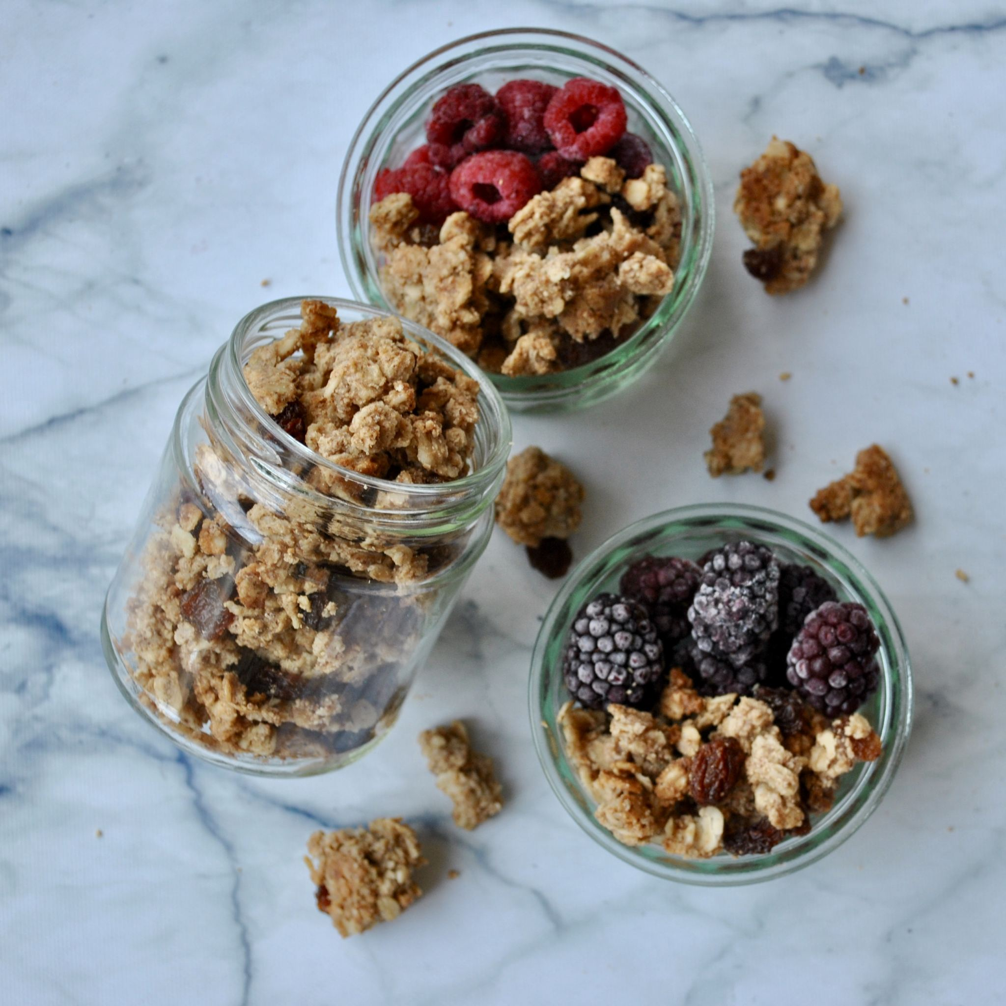 Peanut Butter Sea Salt Granola Recipe