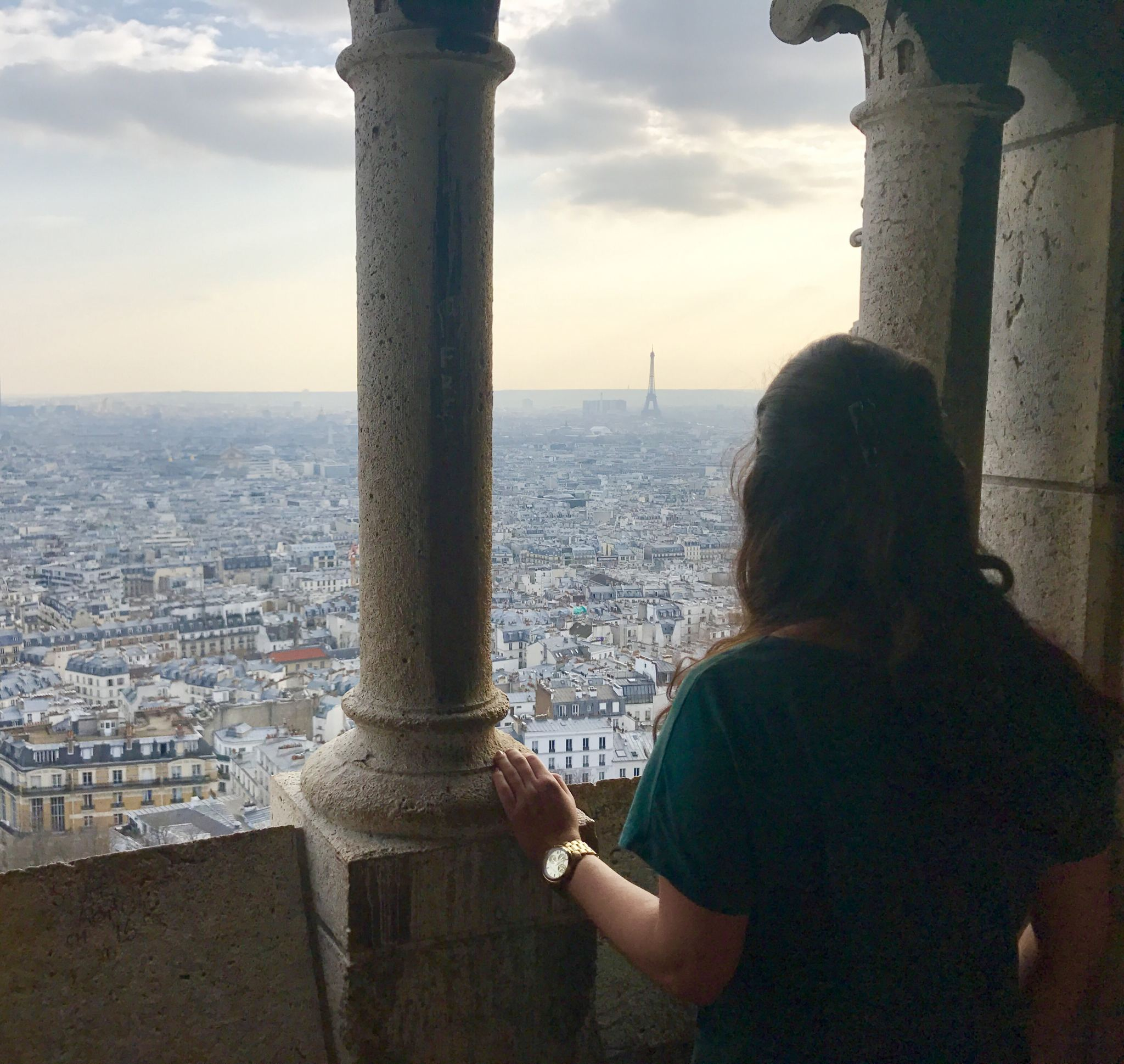 The view from the Sacré-Cœur