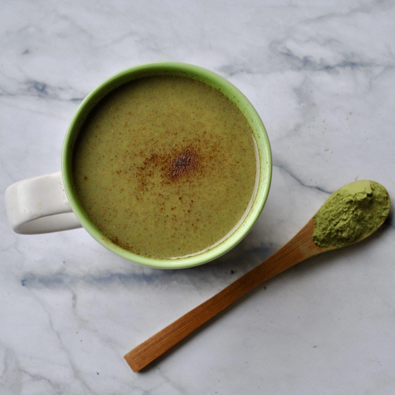 Cinnamon Matcha Latte