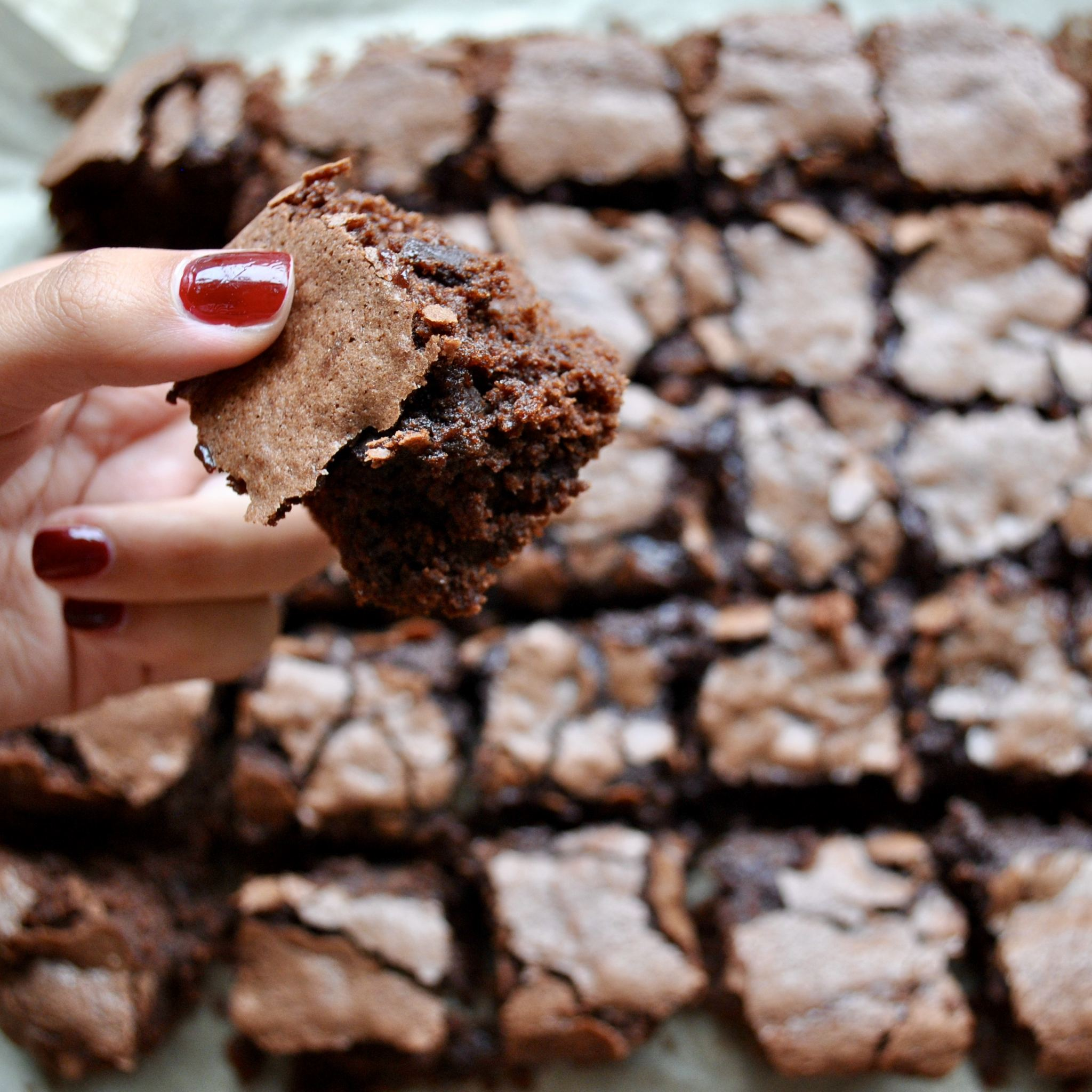 Nutella Chocolate Brownies Gluten Free