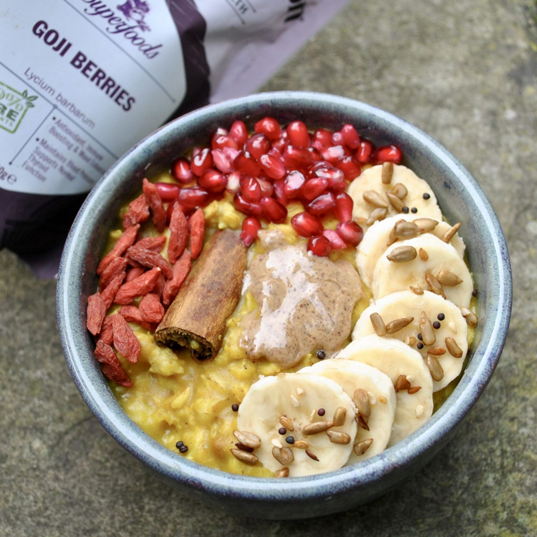 Banana Turmeric Porridge
