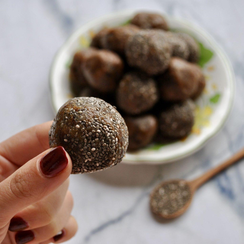 Maca Macadamia Energy Balls