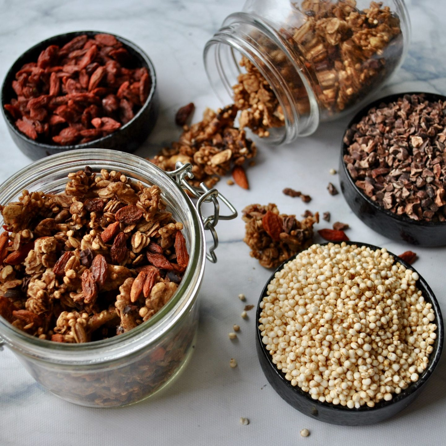 Cacao Nib, Goji Berry & Quinoa Superfood Granola