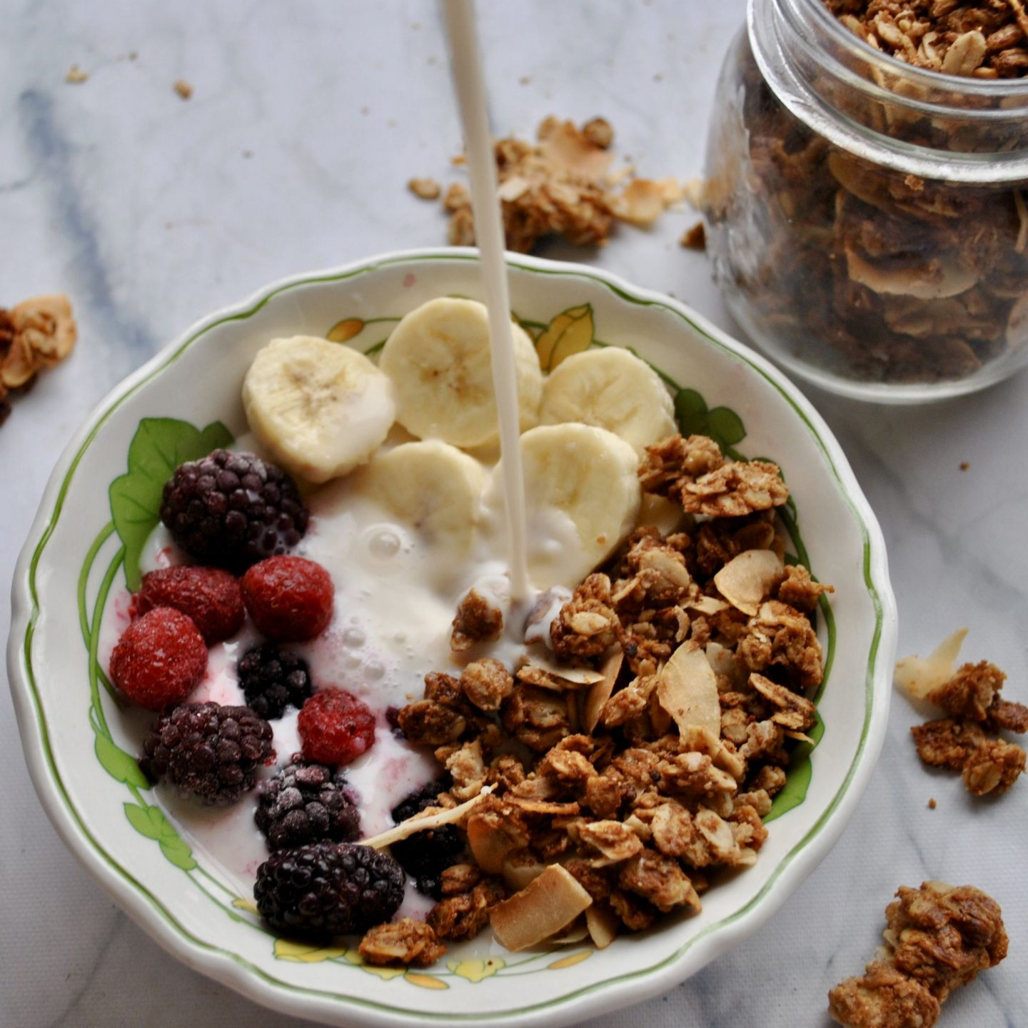 Salted Almond Butter & Coconut Granola