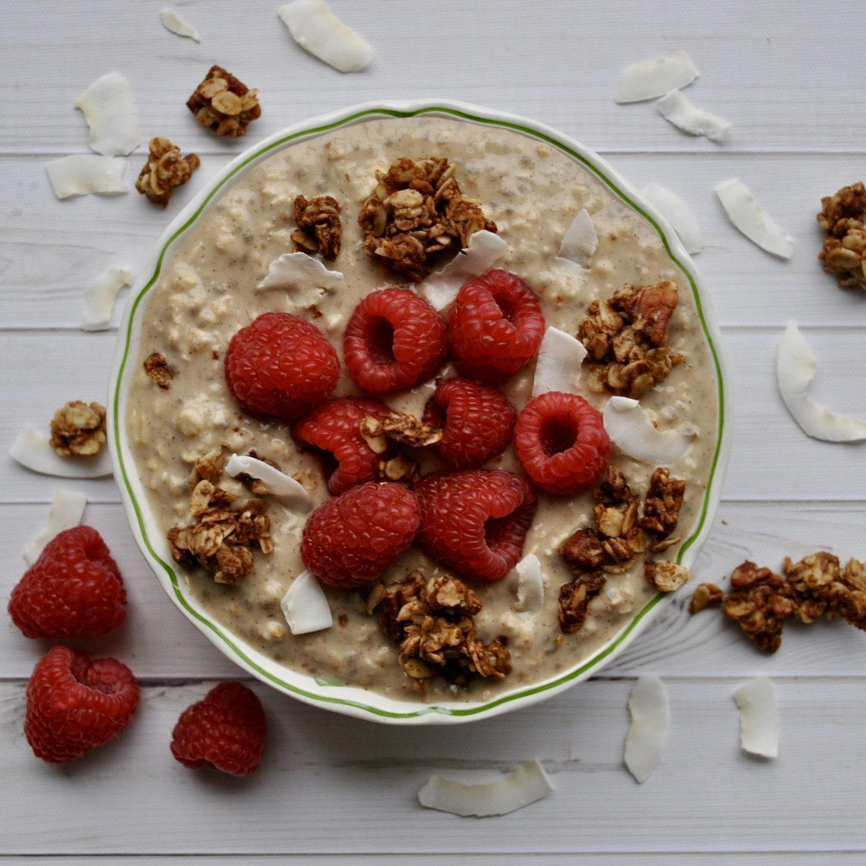Coconut Porridge Vegan Breakfast