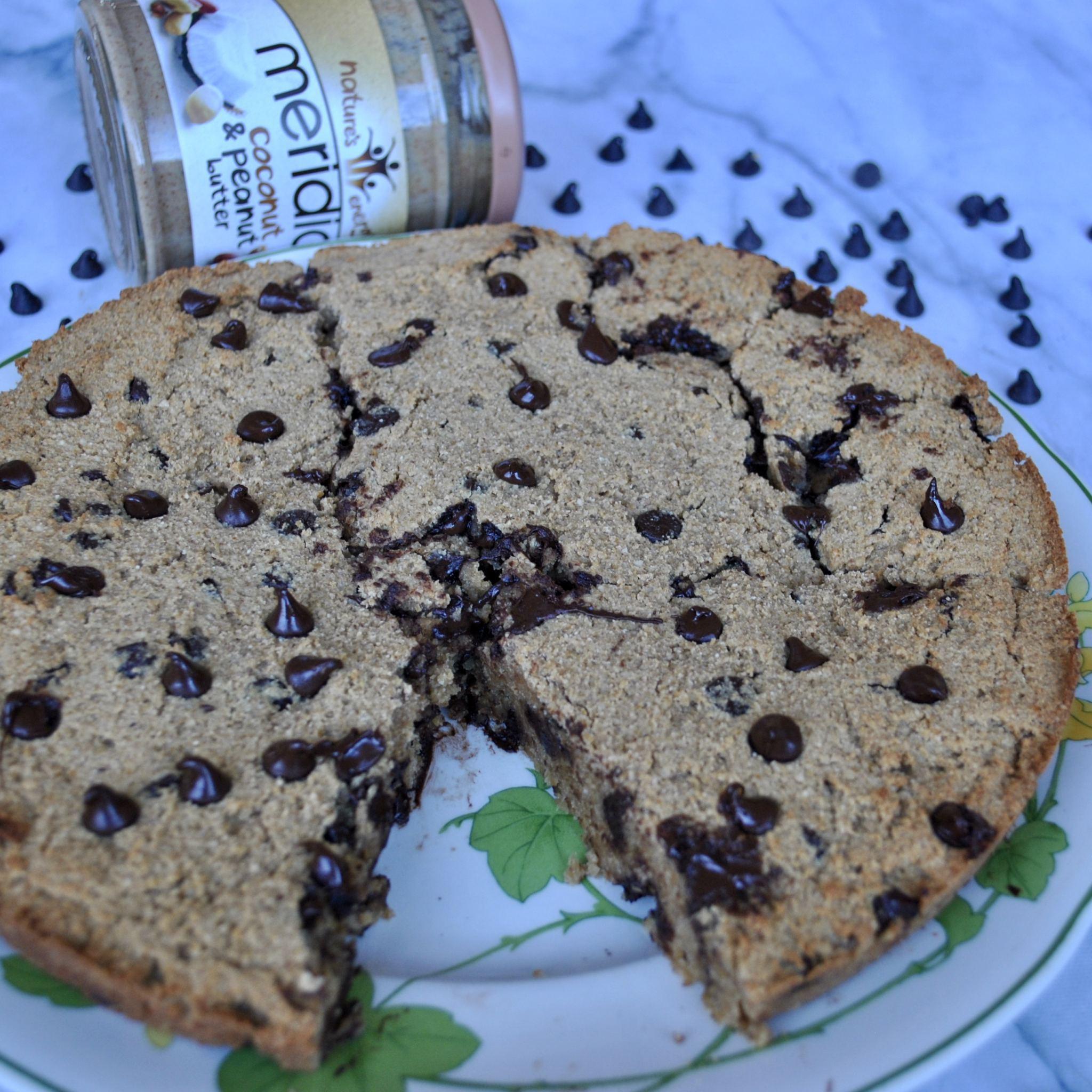 Peanut Butter Cookie Dough Pie Gluten-Free Dairy-Free