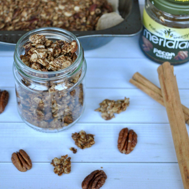 Pecan Pie Granola Vegan Recipe