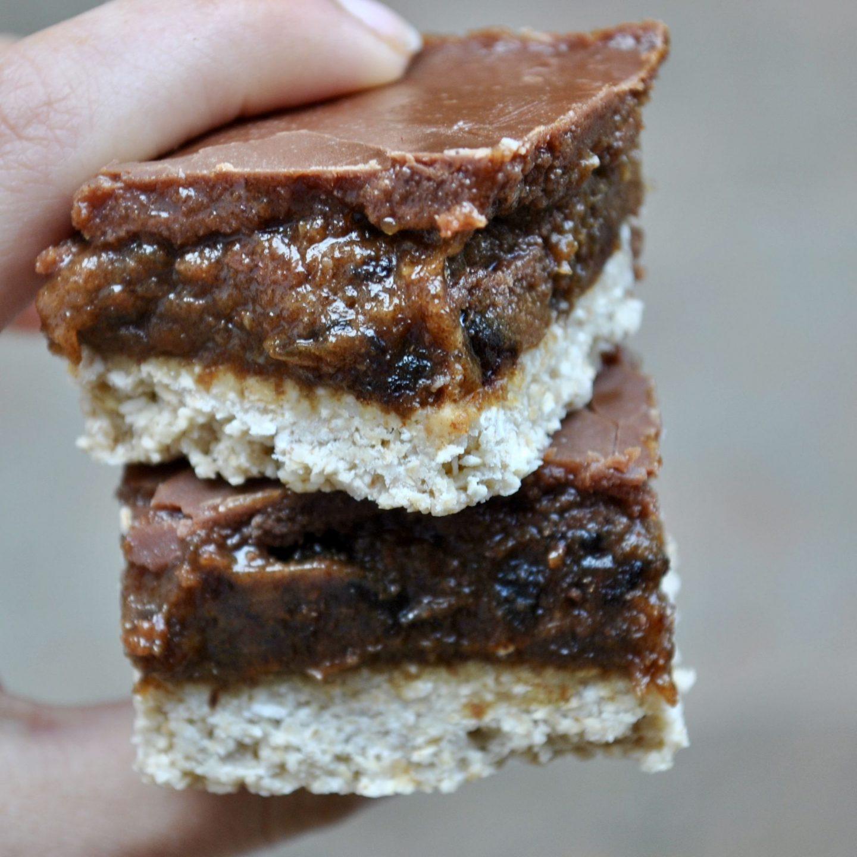 Trillionaire Shortbread Bits, Raw Vegan Millionaire, Eli Brecher cerealandpeanutbutter gluten free dairy free