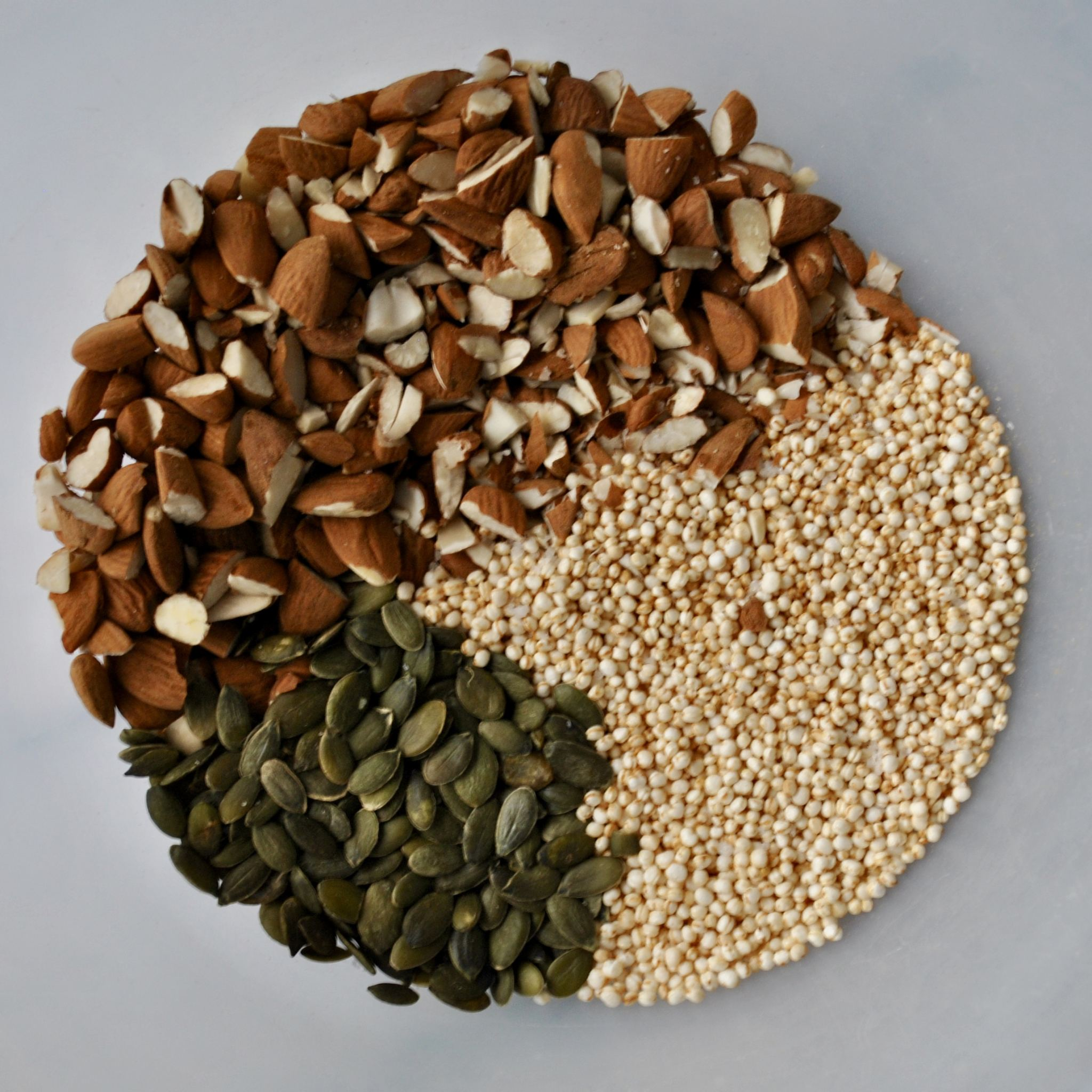 Quinoa, Almond & Pumpkin Seed Brittle (Vegan, Gluten Free)