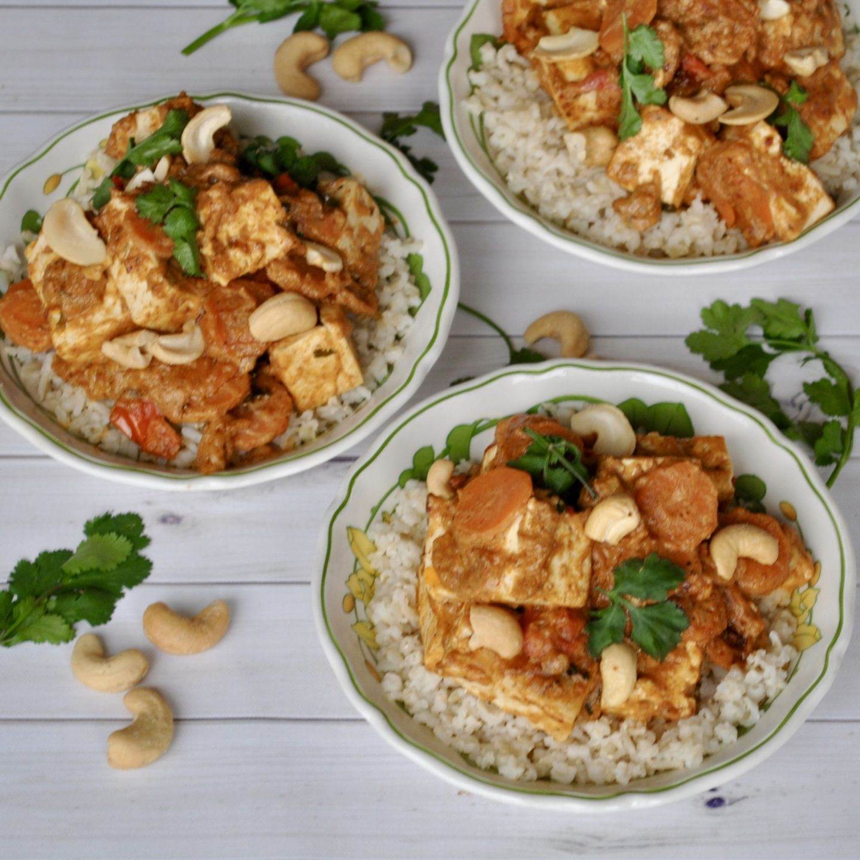 Peanut Tofu Stir-Fry Recipe, Vegan Gluten-Free