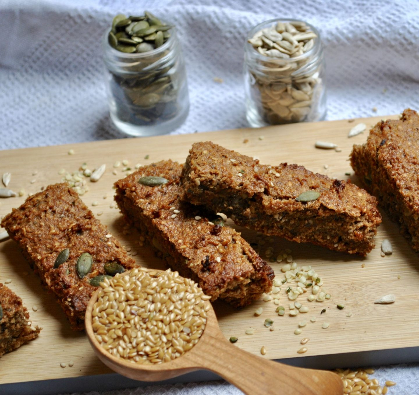 Energy Bars Seeds Recipe Vegan Gluten-Free