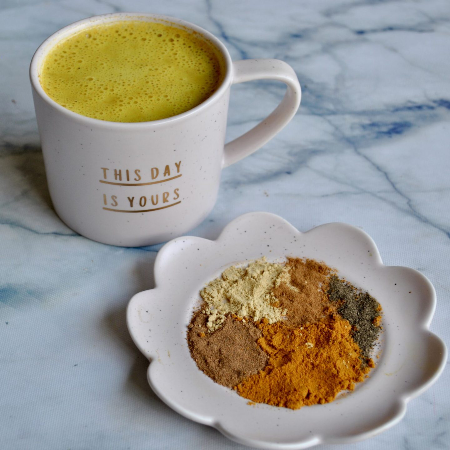 Turmeric Golden Milk Latte, Anti-Inflammatory, Antioxidant Recipe, Eli Brecher