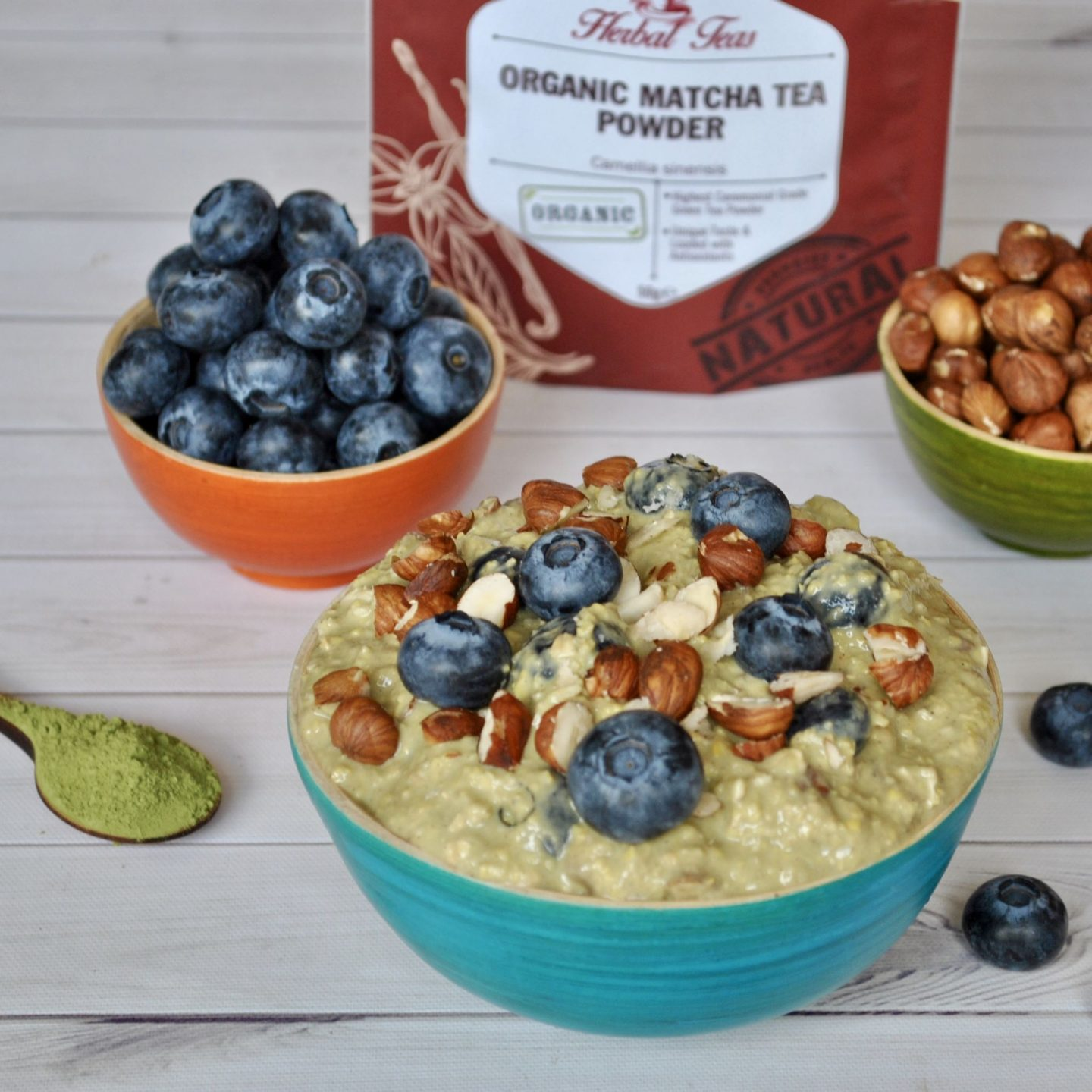 Matcha Overnight Oats Breakfast Recipe, Gluten/Dairy-Free Eli Brecher