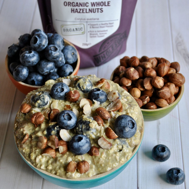 Matcha Overnight Oats Breakfast Recipe, Gluten/Dairy-Free Eli Brecher