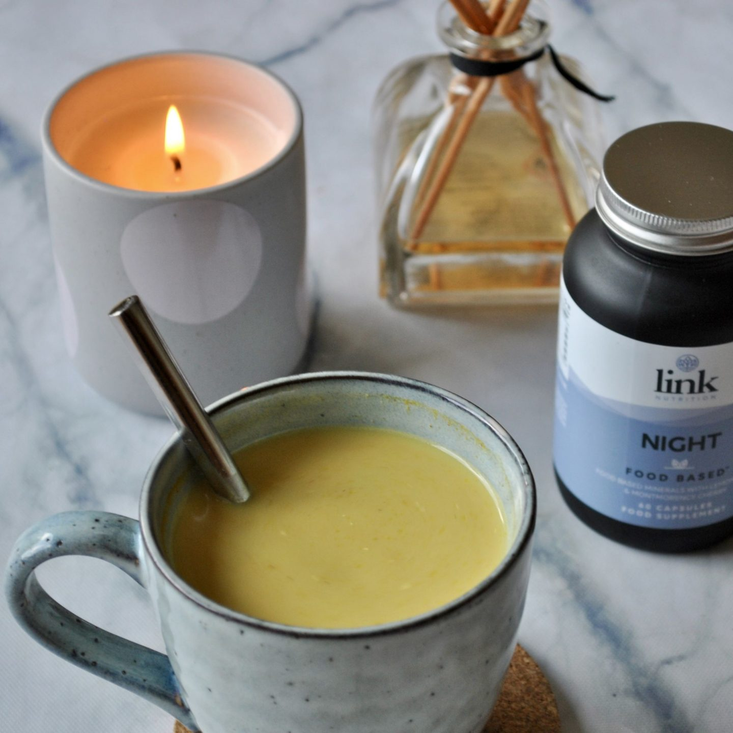 Bedtime Routine Golden Turmeric Milk