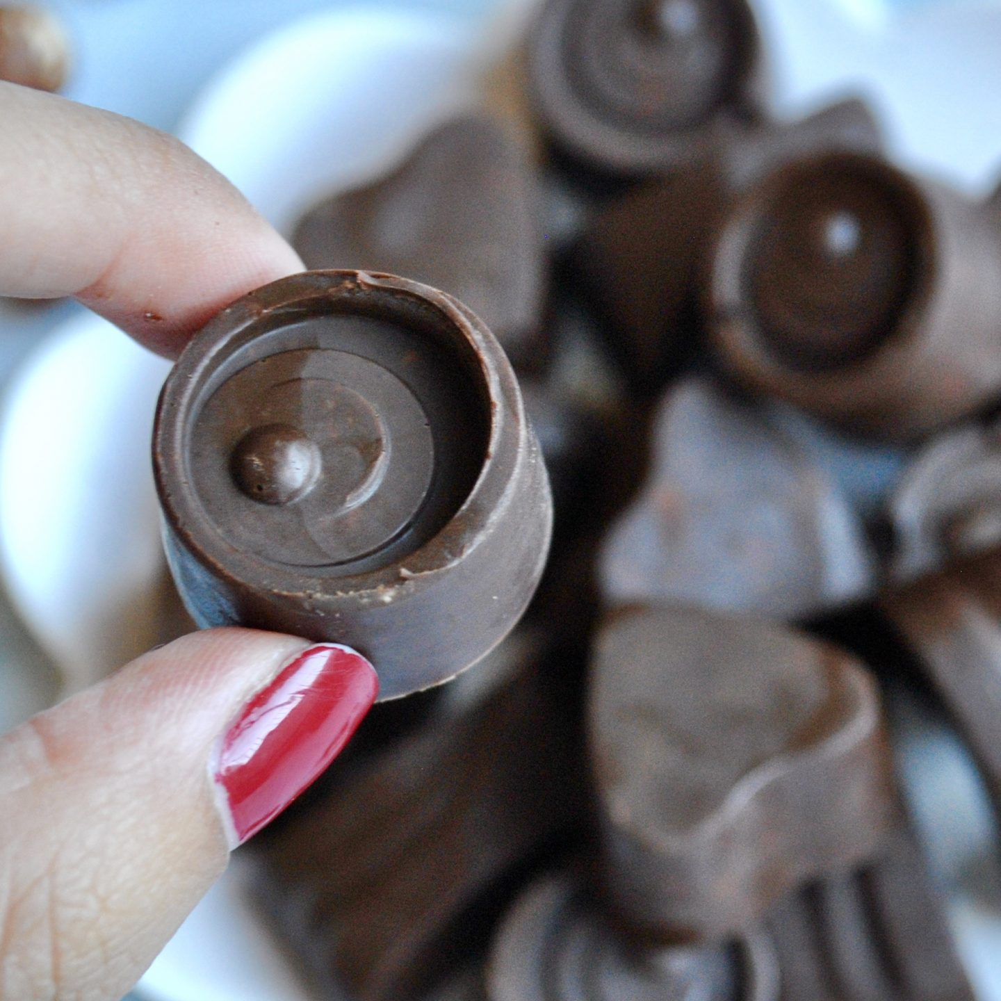 Nutella Fudge Recipe - vegan, paleo, gluten-free, dairy-free