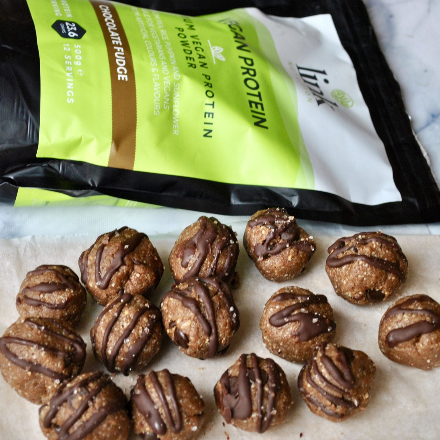 Chocolate Protein Bombs Recipe Vegan Eli Brecher