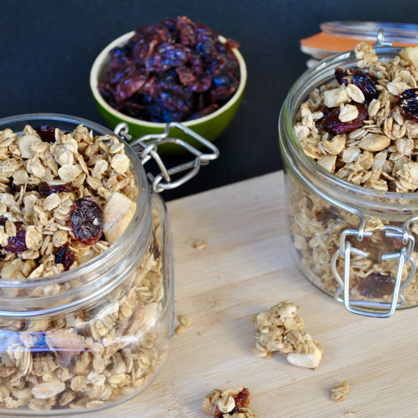 Christmas Spiced Granola Recipe, Festive Xmas Cranberries Blog