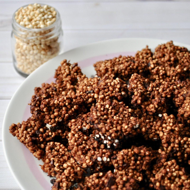 Cacao, Coconut & Quinoa Clusters
