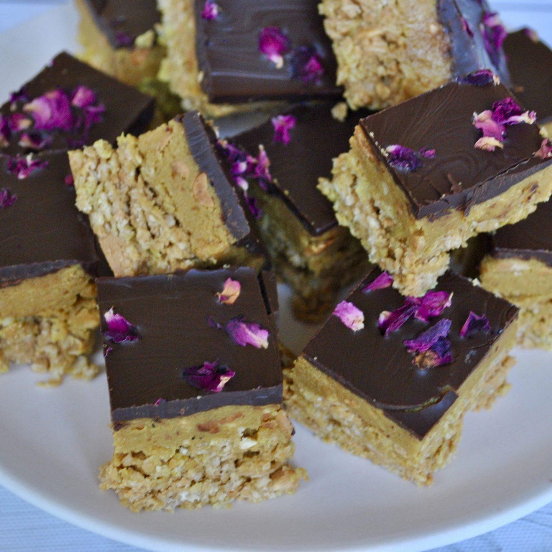 Peanut Butter Protein Square Recipe Eli Brecher