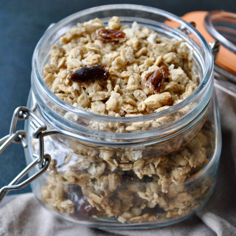 Tahini, Date & Halva Granola Recipe by Eli Brecher