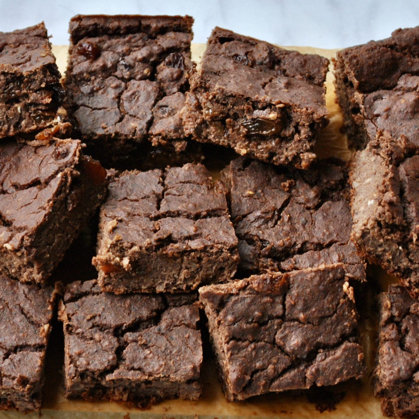 Gooey Black Bean Brownies