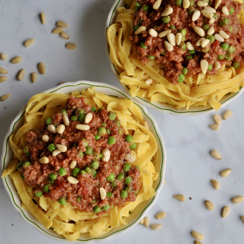 Vegan Spaghetti Bolognese Recipe Eli Brecher