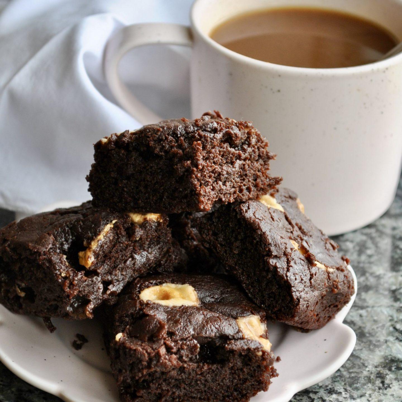 Chocolate Fudge Marshmallow Brownies Vegan Gluten Free
