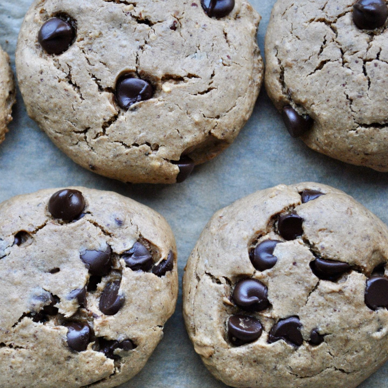Healthy Chocolate Chip Cookies Gluten-Free