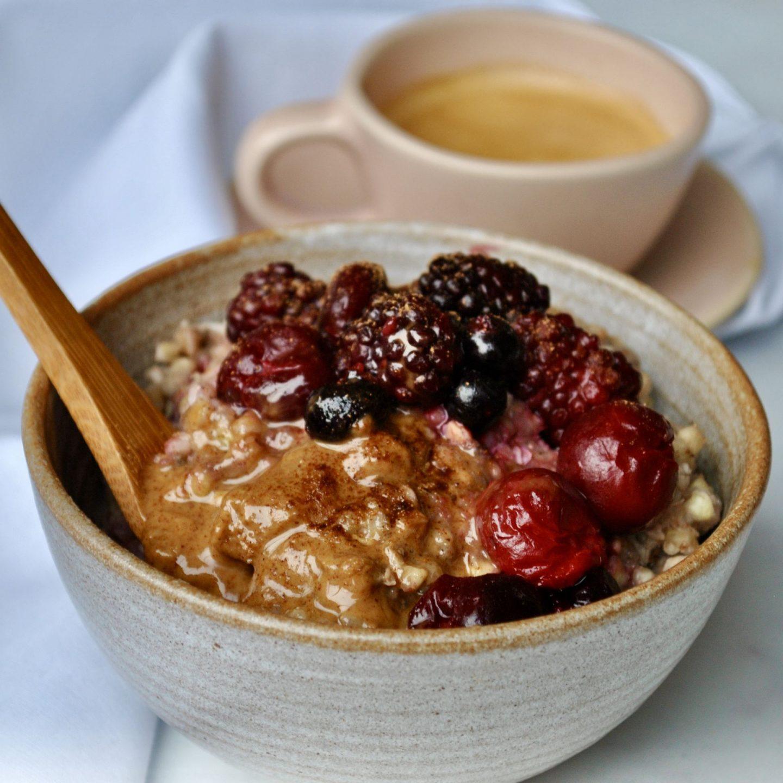Buckwheat Porridge Vegan Recipe Eli Brecher