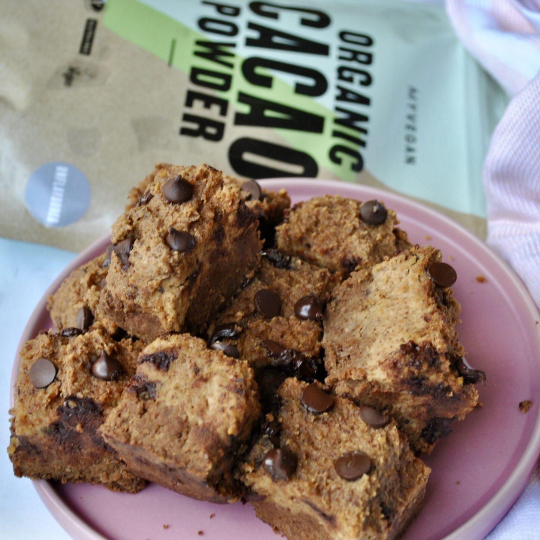 Blondie Brownies Vegan Recipe