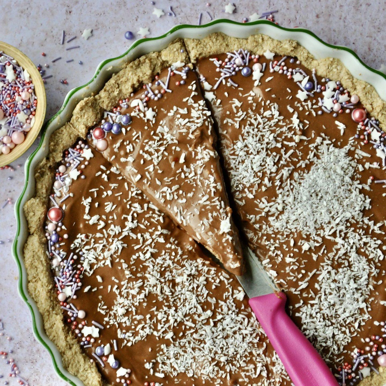 Raw Vegan Chocolate Mousse Tart No Bake