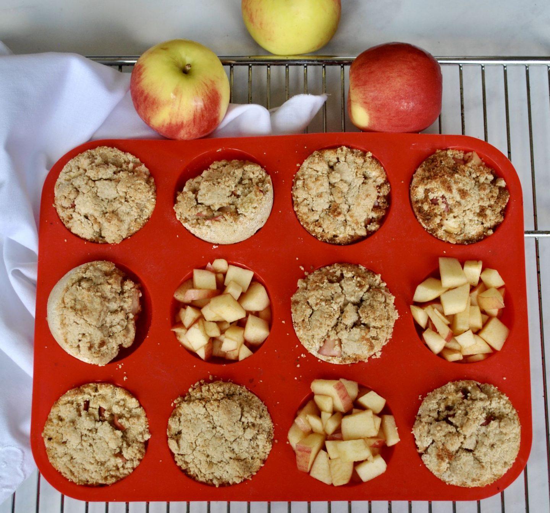 Apple Crumble Muffins Gluten-Free Dairy-Free Recipe